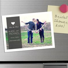 @Overstock - DIY Save the Date (50) Magnets - Popular for all sorts of occasions, but especially for weddings, these DIY save-the-date magnets are an absolutely fabulous way to ensure that all your guests will have your wedding date set aside.    http://www.overstock.com/Gifts-Flowers/DIY-Save-the-Date-50-Magnets/7455951/product.html?CID=214117  $37.99