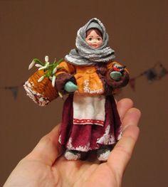 МК Елочная игрушка из ваты - Ярмарка Мастеров - ручная работа, handmade