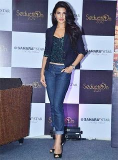Jacqueline Fernandez In Jeans
