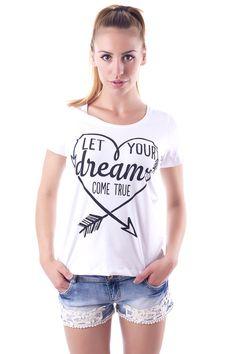 Γυναικεία μοντέρνα μπλούζα T Shirt, Tops, Women, Fashion, Supreme T Shirt, Moda, Tee Shirt, Fashion Styles, Fashion Illustrations