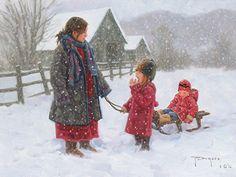 """Winter Treat"" by Robert Duncan"