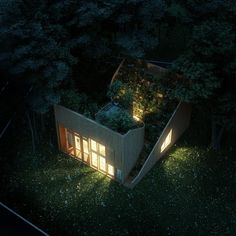 #Architecture: Yin & Yang house features an elaborate rooftop garden