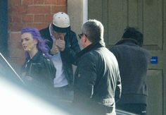 Zayn and Perrie in Nottingham