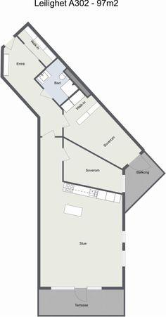 Lørenskog - Eksklusiv, ny og miljøvenning 3/4-roms drømmeleilighet med 2 walk-in-closets, garasje og 2 solfylte uteplasser. Sentralt og attraktivt! | FINN.no