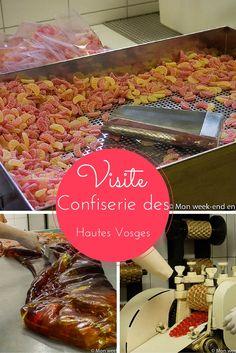 Visite de la Confiserie des Hautes Vosges, qui fabrique des bonbons artisanaux. Elle est située en Lorraine, juste de l'autre côté des Vosges par rapport à l'Alsace. Lorraine, Week End Alsace, Beef, France, Sorbier, Homeland, Provence, Food, Sugar