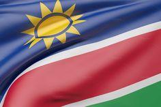 Namibia flag by De todo un poco on @creativemarket