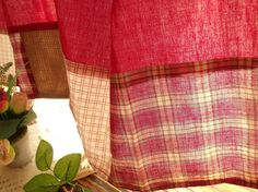 84 Patchwork SHABBY Rustic Chic Red Check by BetterhomeLiving