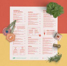 Good Root Restaurant Branding, Menu & Website Design by Lucas Jubb | Grits + Grids