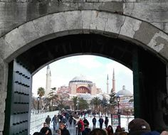 "See 26744 photos from 216987 visitors about historic sites, architecture, and guide. ""Right across from the cistern is the greatest single building in. Hagia Sophia, Historical Sites, Louvre, Architecture, Building, Travel, Arquitetura, Viajes, Buildings"