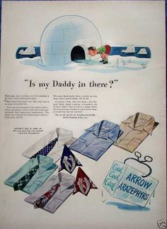 Vintage Clothes/ Fashion Ads of the (Page 1950s Fashion Menswear, Retro Fashion, Mens Fashion, 1950s Men, 1940s, Arrow Shirts, My Daddy, Vintage Ads, Vintage Outfits