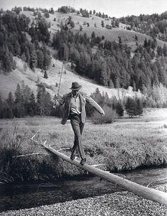 Gary Cooper in Idaho, 1930s