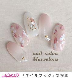 Manicure, Mani Pedi, Round Eyes, Wedding Nails Design, Red Feather, Flower Nail Art, New Nail Art, Stylish Nails, Gold Nails