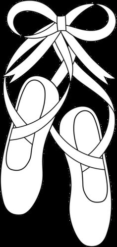 Ballet Shoes Coloring Page