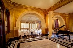 Intercontinental Sydney Treasury Room // Perfect for a classic regal wedding!