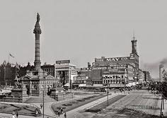 City Square: Cleveland, Ohio 1900 | Documentarist | Historic Photo Archive