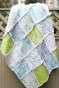 Rag Quilt by WestCoastQuilts