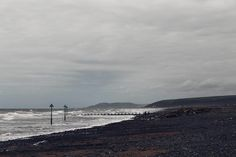 Along the grey coast. Borth Beach As Winter Approaches The Beach, Wales, Landscape Photography, Coast, Grey, Winter, Outdoor, Image, Beautiful