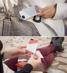Love this modular iPhone case. So easy to change based on your mood (or outfit!).