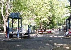 Mariners' Playground in Central Park NYC