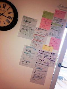psycstudent:  Revision wallpaper getting put up