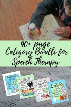 This comprehensive category bundle for speech therapy contains games, activities, carrier phrases, data sheets, graphs, and recommended readings. #categorybundle #categoryactivities #speechtherapy #speech #speechfun #speechstrongresources #vocabulary #tra Articulation Therapy, Speech Therapy Activities, Language Activities, Speech Language Pathology, Speech And Language, Expressive Language Disorder, Receptive Language, Language Development, Data Sheets