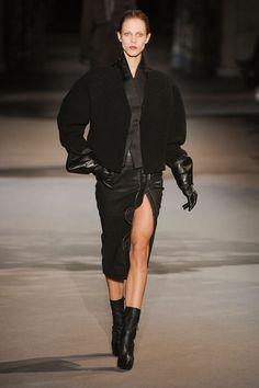 Haider Ackermann at Paris Fashion Week Fall 2012 - Runway Photos