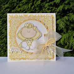 Playing With Paper: A Baby Card
