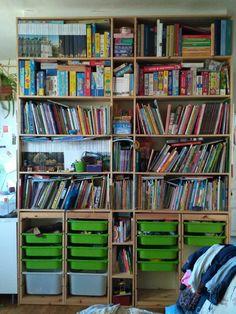 Книжный стеллаж плюс система хранения труфаст икея