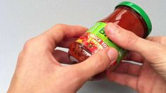 HOW TO EASILY UNSCREW A GLASS JAR OR BOTTLE?
