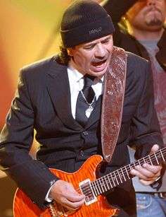 Carlos Santana. Mexican Singer Clothes and shoe line designer