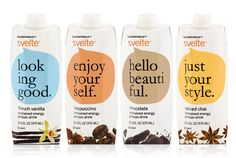 CalNaturale Svelte sustained energy protein drink range