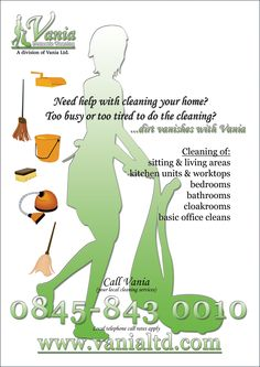 Captivating Housekeeping Flyers | 4 3 2 1