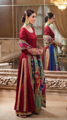 Ayeza Khan's latest photoshoot – The Odd Onee Pakistani Fashion Party Wear, Pakistani Dresses Casual, Pakistani Wedding Outfits, Pakistani Bridal Wear, Pakistani Dress Design, Indian Fashion, Indian Bridal, Emo Fashion, Fashion Styles