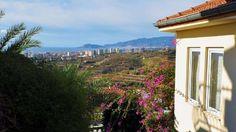 Gold City Villa i Alanya - Parhus villa i Kargicak Gold City 5-stjärnigt hotell med totalt fri havsutsikt över turkos färgade Medelhavet , Alanya, slottet och bergen