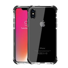 iPhone X Case, Celeir Hybrid Shockproof Slim Crystal Clear Cover Double Anti Drop Protection Armor Hard PC Back Flexible TPU Frame Bumper Corner with Free Tempered Glass Screen Protect  https://topcellulardeals.com/product/iphone-x-case-celeir-hybrid-shockproof-slim-crystal-clear-cover-double-anti-drop-protection-armor-hard-pc-back-flexible-tpu-frame-bumper-corner-with-free-tempered-glass-screen-protect/  Compatibility: iPhone X / iPhone 10 5.8 inch Color: Crystal clear with