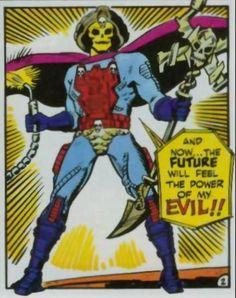 Skeletor: feel my evil