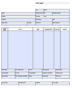 ir Pay Stub Template Word para the pay stub template for ms word ...