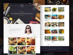 Freelance Chef website by Silviu Stefu