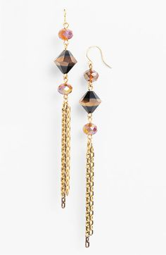 Nordstrom 'Wisteria' Linear Earrings available at #Nordstrom
