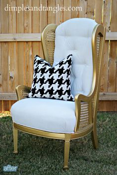 Vintage 1960 S Chair Lewittes Wing Back Chair Mid
