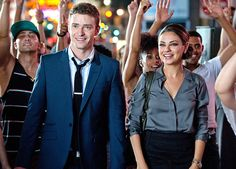 """Justin Timberlake & Mila Kunis in""""Friends with Benefits"""""""