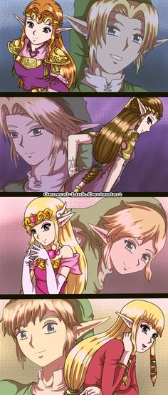 My favorite Princess Zelda is Twilight Princess, both in this photo and in the games
