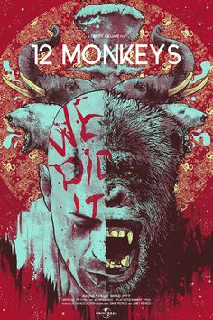 Twelve Monkeys by Nikita Kaun