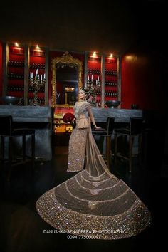 Most expensive Sri Lankan bridal saree