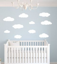 Cloud Wall Decals Cloud Fabric Wall Decals By Ecowalldecals | Marmadukeu0027s  Room | Pinterest | Cloud Fabric, Wall Decals And Cloud