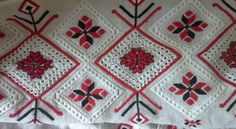 Embroidery pattern of Rivne region, Ukraine