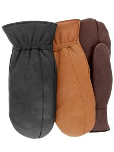 If you are looking for the ultimate mitt then look no further. Seneca is made from Northern Adirondack Deerskin and has a finger mitt constructed MicroThermaDryTM lining for softness and down-like warmth.