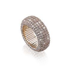 Flexibler Alliance Ring mit Brillanten Alliance Ring, Engagement, Rings, Engagements