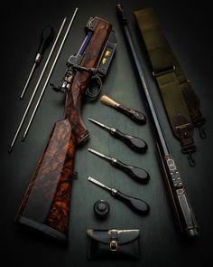 The Finest Westley Richards Magazine Rifle Ever Built! Energy Sword, Bull Elephant, Firearms, Shotguns, Gun Art, Bolt Action Rifle, Custom Guns, Weapon Concept Art, Fire Powers