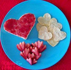 Kitchen Fun With My 3 Sons: Valentine Love Lunch